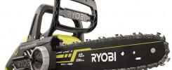 Tronçonneuse électrique Ryobi